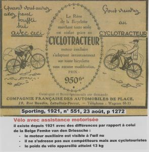 CYCLOTRACTEUR