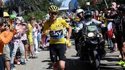 FROOME A PIED