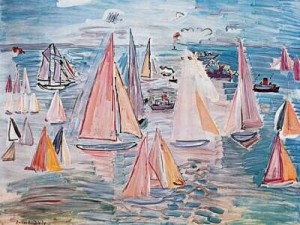les-regates-de-paul-dufy