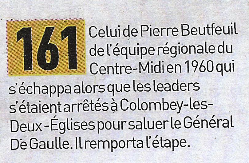 Tour De France – Le Comble De L'Equipe : L'Ignorance De L'Histoire