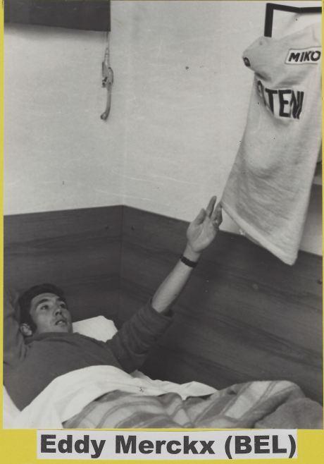 maillot jaune Eddy M.