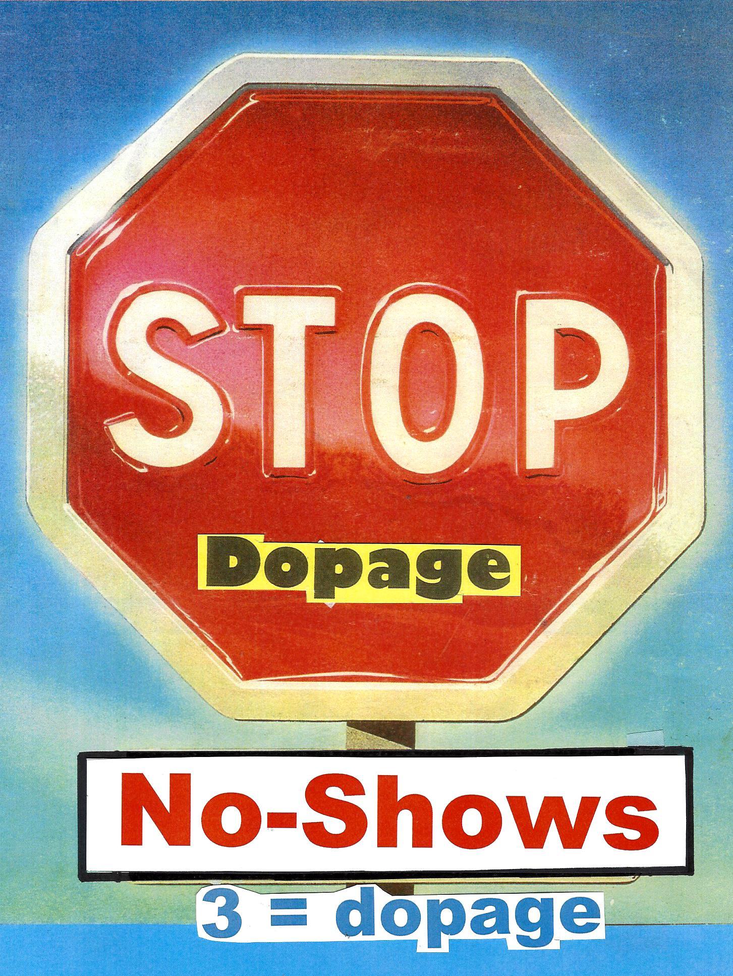 stop no show